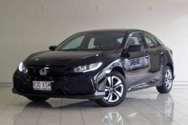2017 Honda Civic 10th Gen MY17 VTi Hatchback Black