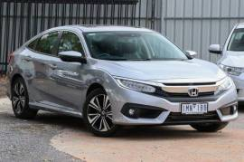 2016 Honda Civic 10th Gen MY16 VTI-LX Sedan Silver