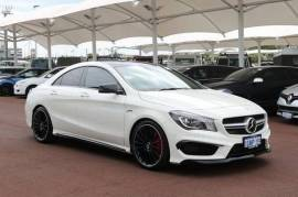 2014 Mercedes-Benz CLA 117 45 AMG Coupe White