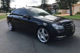 2013 Mercedes-Benz C200 CDI Sedan Black