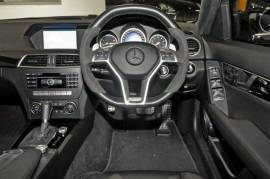 2013 Mercedes-Benz C63 W204 MY13 AMG Sedan Black