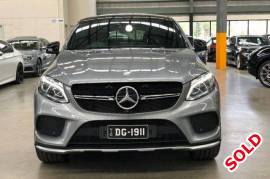 2015 Mercedes-Benz Coupe GLE450 C292 AMG 9G-TRONIC