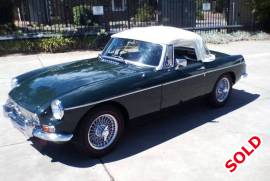 MGB 1964 Roadster Convertible
